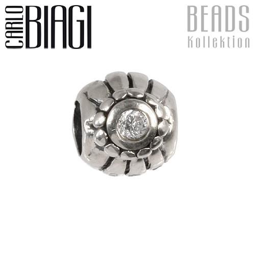 Carlo Biagi Zirkonia Bead Ball European Beads BBSCZ76C