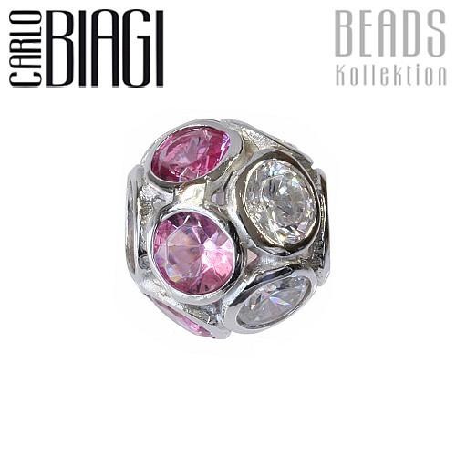 Carlo Biagi Zirkonia Sphäre European Beads BBSCZP04HPC