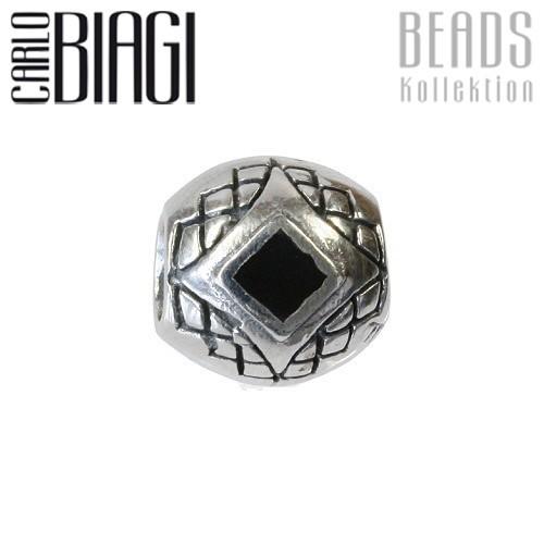 Carlo Biagi Bead Perlmutt 925 Silber European Beads BBST01