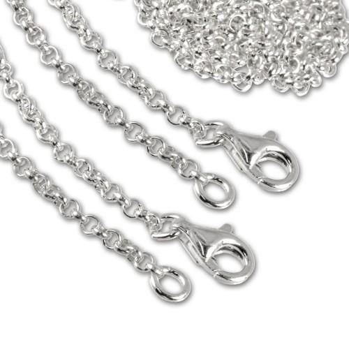 SilberDream Sterling Silber Charm Halskette 2x100cm FC00281-2