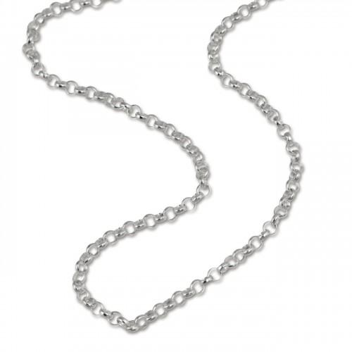 SilberDream Kette für Kinder 925 Sterling Silber 38cm SDK01338