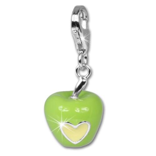 SilberDream 925 Silber Charm Liebes Apfel Armband Anhänger FC617