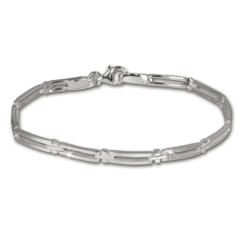 SilberDream Armband Trendy 925 Silber 19cm Silberarmband SDA407