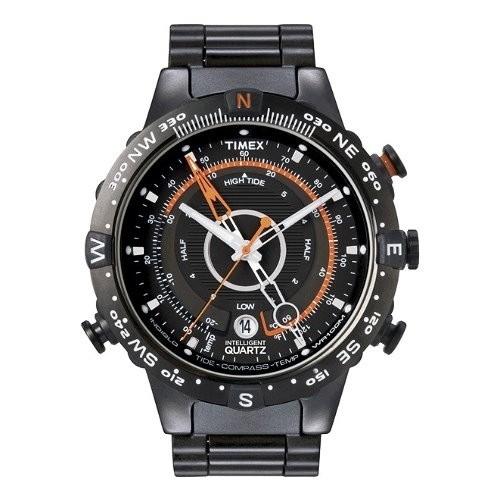 TIMEX Uhr schwarz Herrenuhr TIMEX IQ Uhren Kollektion UT2N723
