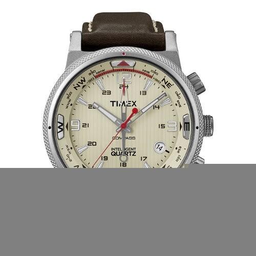 TIMEX Uhr beige Herrenuhr TIMEX IQ Uhren Kollektion UT2N725