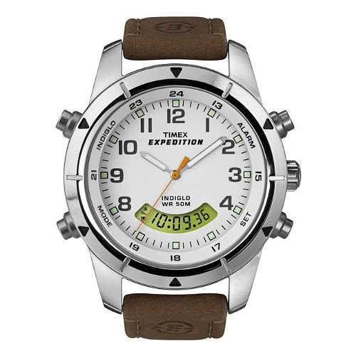 TIMEX Uhr wei Herrenuhr TIMEX Expedition Uhren Kollektion UT49828
