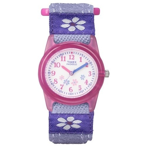 TIMEX Uhr lila-wei Kinderuhr TIMEX Kids Uhren Kollektion UT75031