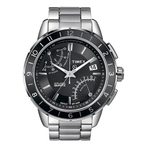 TIMEX Uhr schwarz Herrenuhr TIMEX IQ Uhren Kollektion UT2N498