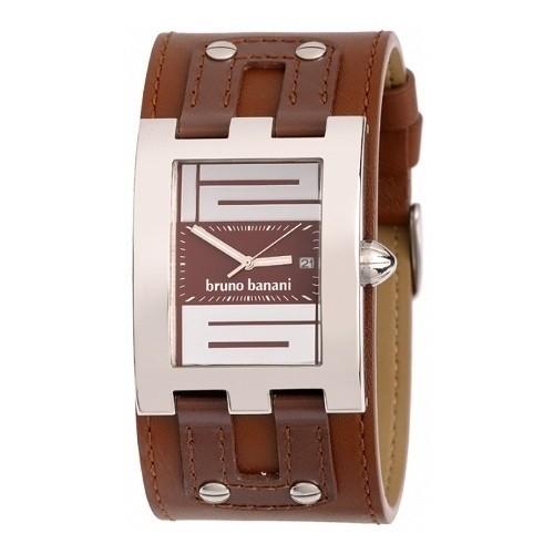 Bruno Banani Herren Uhr braun XT Rectangular Kollektion UBR20716