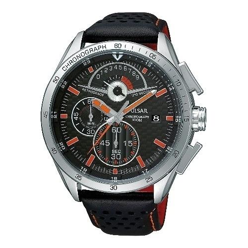 Pulsar Herrenuhr Chronograph schwarz Sport Uhren Kollektion UPS6041