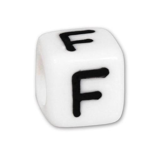 Bead Buchstabe F Beads für Armband KSPPWF