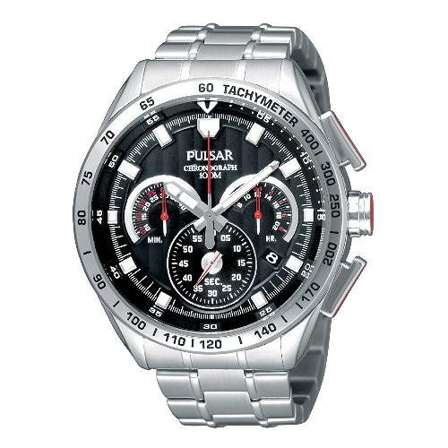 Pulsar Herrenuhr Chronograph schwarz Sport Uhren Kollektion UPU2001