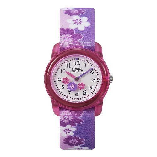TIMEX Uhr pink Blume Kinderuhr TIMEX Kids Uhren Kollektion UT7B011