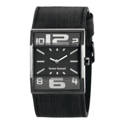 Bruno Banani Herren Uhr schwarz Brix Gents Uhren Kollektion UBR21001