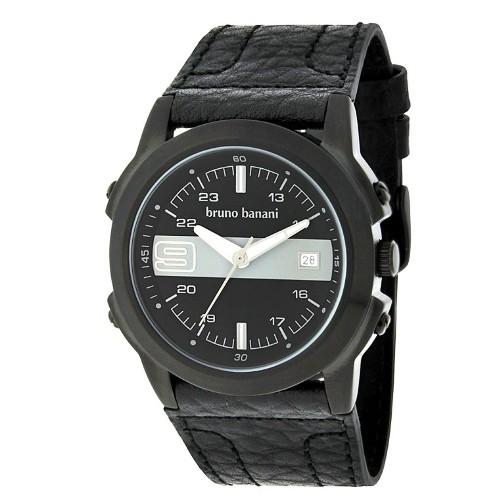 Bruno Banani Herren Uhr schwarz-schwarz Pan Uhren Kollektion UBR21092