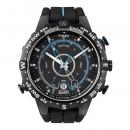 TIMEX Herrenuhr schwarz Chronograph TIMEX IQ Uhren Kollektion UT49859