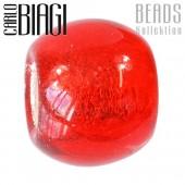 Carlo Biagi Bead Glas Modul rot European Beads BBGM13