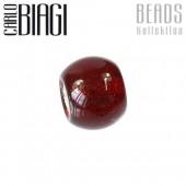 Carlo Biagi Bead Glas rot für European Beads BBGMB01