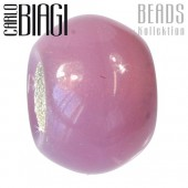 Carlo Biagi Bead Glas pink für European Beads BBGMB10