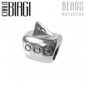 Carlo Biagi Bead Segelboot Silber European Beads BBS008
