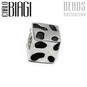 Carlo Biagi Bead Käsewürfel Silber European Beads BBS021