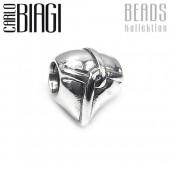 Carlo Biagi Bead Herzknoten Silber European Beads BBS024