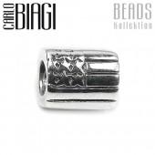 Carlo Biagi Bead USA Flagge Silber European Beads BBS051