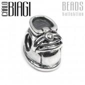 Carlo Biagi Bead Babyschuh Silber European Beads BBS053