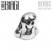 Carlo Biagi Bead Geist 925 Silber European Beads BBS099