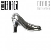 Carlo Biagi Bead High Heel Silber European Beads BBS106