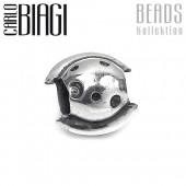 Carlo Biagi Bead Planet Ring Silber European Beads BBS127