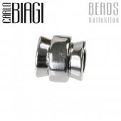Carlo Biagi Bead Rad Sterling Silber European Beads BBS145