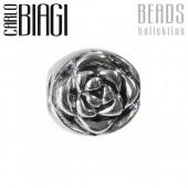 Carlo Biagi Bead Rose 925 Silber European Beads BBS151