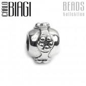 Carlo Biagi Bead Ball Band Silber European Beads BBS164