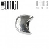 Carlo Biagi Bead Mond 925 Silber European Beads BBS207