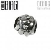 Carlo Biagi Zirkonia Bead Muschel European Beads BBSCZ23C