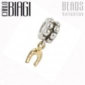 Carlo Biagi Dangle Bead Hufeisen European Beads BDBG03