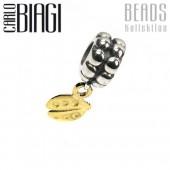 Carlo Biagi Dangle Bead Marienkäfer European Beads BDBG05