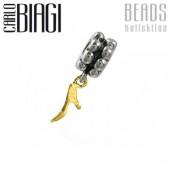 Carlo Biagi Dangle Bead Stiletto European Beads BDBG11