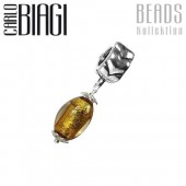 Carlo Biagi Dangle Bead 925 Silber European Beads BDMGD14