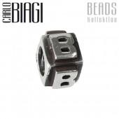Carlo Biagi Bead Buchstabe B Silber European Beads BLPB