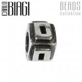 Carlo Biagi Bead Buchstabe D Silber European Beads BLPD