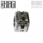 Carlo Biagi Bead Buchstabe H Silber European Beads BLPH