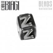 Carlo Biagi Bead Buchstabe Z Silber European Beads BLPZ