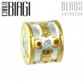 Carlo Biagi Bead Blume 925 Bico European Beads BTTCZ22C