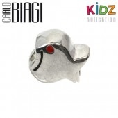Carlo Biagi Kidz Bead Fisch rot 925 Beads für Armband KBE015