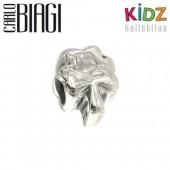 Carlo Biagi Kidz Bead Kleeblatt Silber Armband KSB07