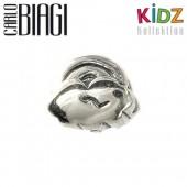 Carlo Biagi Kidz Bead Regenbogen 925 Beads für Armband KSB09