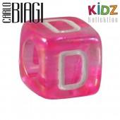 Carlo Biagi Kidz Bead Buchstabe D Beads für Armband KSPPLD