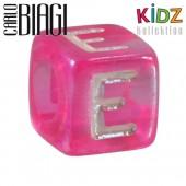 Carlo Biagi Kidz Bead Buchstabe E Beads für Armband KSPPLE